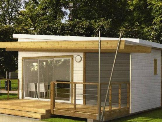 Chalet FABRE Casane 42m² - 2 chambres / Terrasse couverte : Camping ...