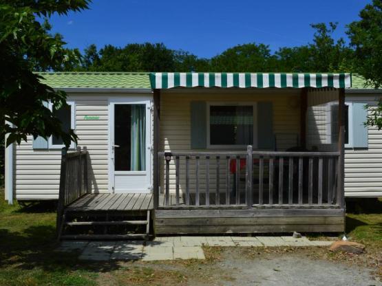 Mobilheim Confort 2 Zimmer + überdachte Terrasse : Camping L ...