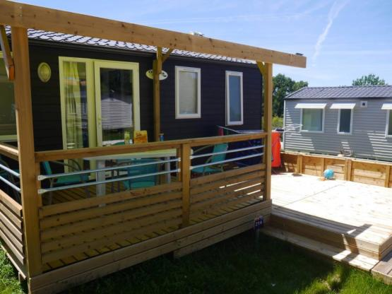 Mobile-home CONFORT 28m² (2 chambres)