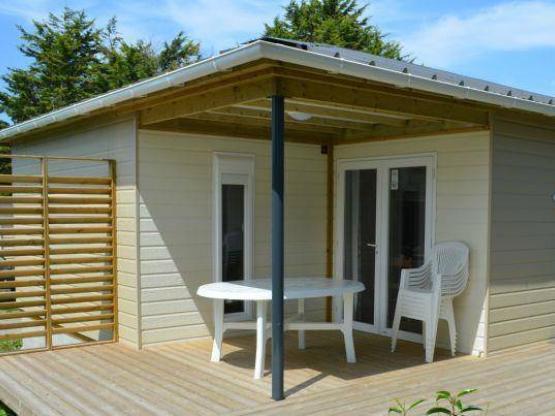 Chalet Premium 32m² (3 Zimmer) + Terrasse : Flower Camping ...