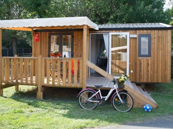 Mobilheim PIN 2 Zimmer + Halbüberdachte Terrasse : Camping ...