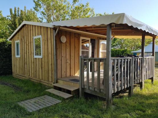 Chalet Robinson 2 Schlafzimmer, 21 m² + überdachte Terrasse 4/5 Pers ...