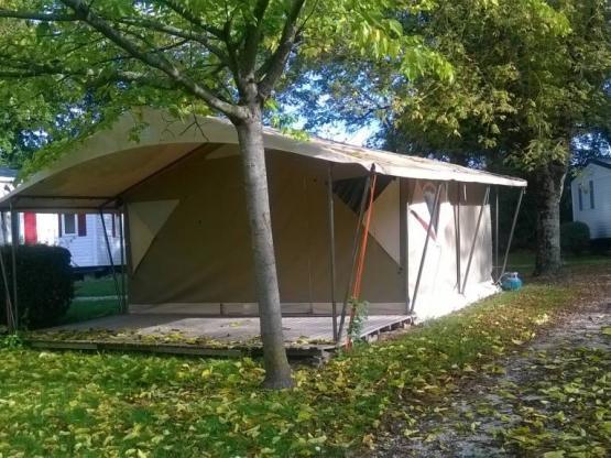 Toile Safari 30 m² - 2 chambres dont terrasse couverte 12 m² - sans ...