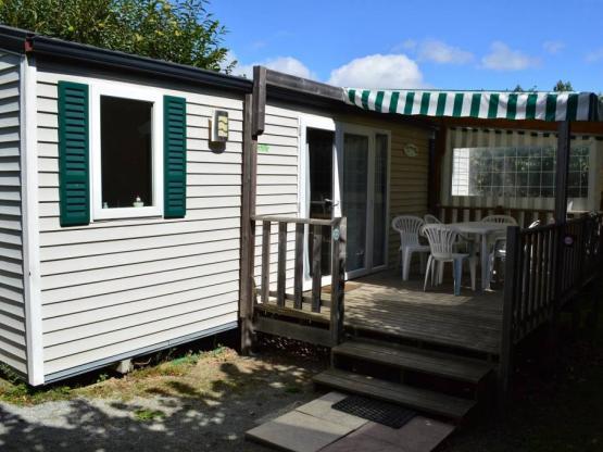 Mobilheim Premium 2 Zimmer + terrasse couverte : Camping L ...