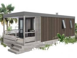 Le Ponton   4 pers premium – 28 m² + 7.8m² fully covered terrace