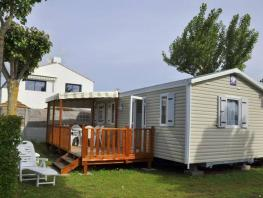 Mobil home Grand Confort 31 m² / 3 chambres - terrasse semi-couverte