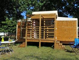 Cabane Nature CONFORT 16m² - 2 chambres, terrasse