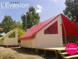 Lodge Tentation 21m² - Proche du Lagon - 4/5 pers.