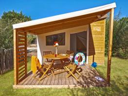 Cabane Fun Flower CONFORT 20m² / 2 chambres - terrasse