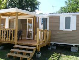 Mobilhome  RIVIERRA  2 chambres  24M2 , terrasse couverte