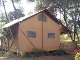 Glamping Lodge VIP 8 / 2016 / 2 chambres parentales / mezzanine