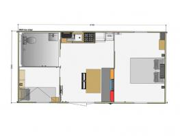 Mobil-home 2 chambres PMR 31m²