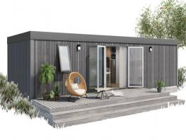 Mobil Home Terrasse 3 chambres premium 4/6 pers– 35.30 m²+ 15m² non-covered terrace