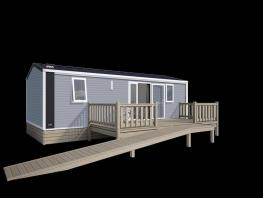 MOBILE HOME FOR PEOPLE WITH REDUCED MOBILITY 30.5m² - 2 BEDROOMS